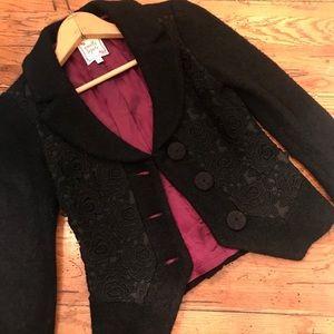 Nanette Lepore black jacket. Small.
